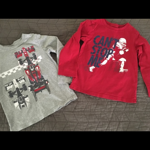 ccc05fd02 Children's Place Shirts & Tops | 2 Childrens Place Long Sleeve ...
